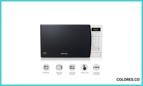 Horno Microondas Samsung con Dorador 1.1 Pies - 32 L Black - MG32J5133A